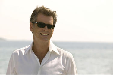 "PIERCE BROSNAN as Sam Carmichael in ""Mamma Mia!"""