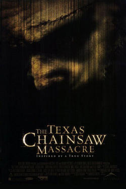 "Poster art for ""The Texas Chainsaw Massacre."""