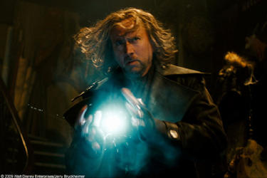 "Nicolas Cage as Balthazar Blake in ""The Sorcerer's Apprentice."""