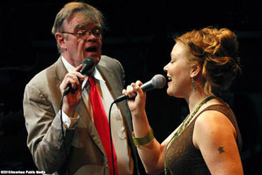 Garrison Keillor and Andra Suchy in ``A Praire Home Companion With Garrison Keillor-Live''