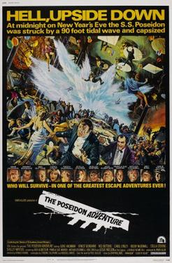 "Poster art for ""The Poseidon Adventure."""