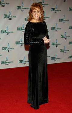 Reba McEntire at the 42nd Annual CMA Awards.