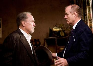 "Robert Duvall as Felix Bush and Bill Murray as Frank Quinn in ""Get Low."""