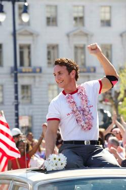 "Sean Penn as Harvey Milk in ""Milk."""