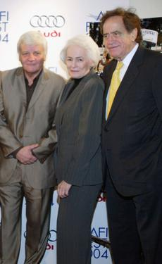 "Jacques Perrin, Jean Firstenberg and Arthur Cohn at the premiere of ""The Chorus."""