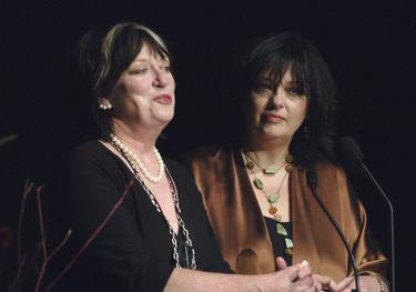 "Veronica Cartwright and Angela Cartwright at the ATAS Celebrates ""60 Years: A Retrospective Of Television And The Academy"" at the Academy's Leonard H. Goldenson Theater."
