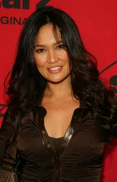 "Tia Carrere at the premiere party for its two new comedies ""Head Case"" and ""Hollywood Residential""."