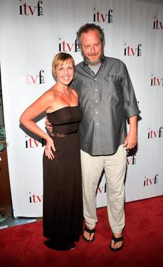 Jenny Starnes and Daniel Stern at the 4th Annual Independent Television Festival Opening Night Gala.