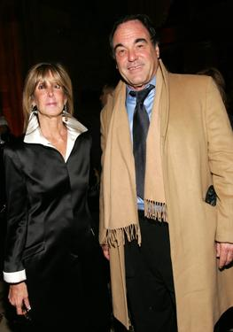 Oliver Stone and Anne Schulhof at the 2006 National Board Of Review Awards.