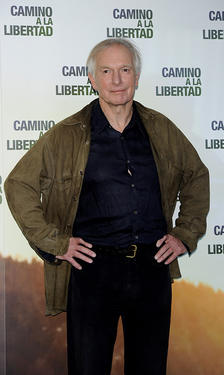 "Peter Weir at the photocall of ""The Way Back."""