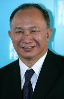 "John Woo at the Australian premiere of ""Red Cliff."""