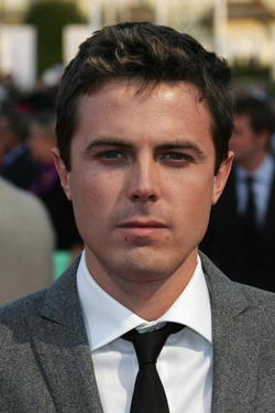 "Actor Casey Affleck at the French premiere of ""The Assassination of Jesse James by the Coward Robert Ford."""