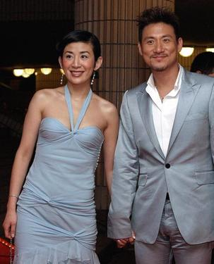 Sandra Ng and Jacky Cheung at the Hong Kong Film Awards.