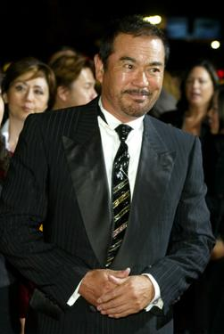 "Sonny Chiba at the Los Angeles premiere of ""Kill Bill Volume 1"" at the Grauman's Chinese Theatre."