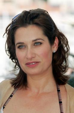 "Emmanuelle Devos at the photocall of ""Bienvenue en Suisse"" (""Welcome to Switzerland"")."