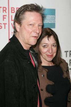 "Chris Cooper and his wife Marianne Leone at the opening night premiere of ""SOS"" at the 2007 Tribeca Film Festival."