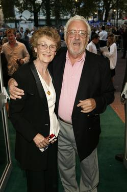 "Bernard Cribbins at the London premiere of ""Blackball""."
