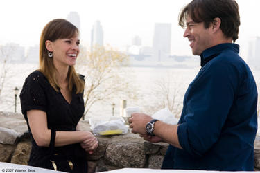 "Hilary Swank and Harry Connick Jr. in ""P.S. I Love You."""