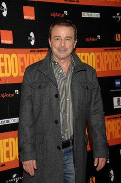 "Juan Diego at the photocall of ""Oviedo Express."""