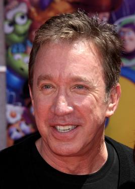 "Tim Allen at the California premiere of ""Toy Story 3."""