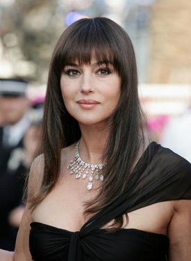 "Monica Bellucci at ""The Da Vinci Code"" premiere during the 59th International Cannes Film Festival."