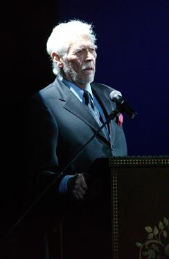 James Coburn at the Stella Adler Awards.