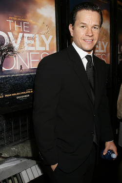 "Mark Wahlberg at the Special New York screening of ""The Lovely Bones."""