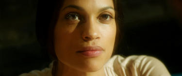 "Rosario Dawson as Elizabeth in ""Trance."""