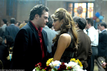 "Joaquin Phoenix and Eva Mendes in ""We Own the Night."""