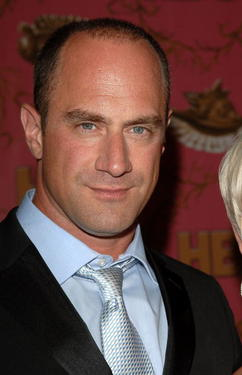 Christopher Meloni at the HBO Post Emmy party.