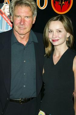 "Calista Flockhart and Harrison Ford at the Premiere Magazine's ""The New Power""."