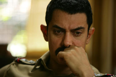 "Aamir Khan as Inspector Shekhawat in ""Talaash: The Answer Lies Within."""