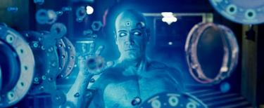 "Billy Crudup as Dr. Manhattan in ""Watchmen: The IMAX Experience."""