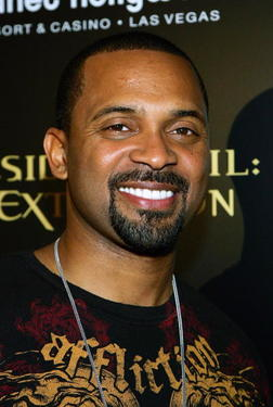 """Resident Evil: Extinction"" star Mike Epps at the Las Vegas premiere."