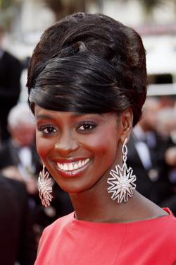"Aissa Maiga at the screening of ""Che"" during the 61st Cannes International Film Festival."