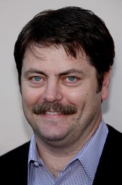 "Nick Offerman at the screening of ""Parks and Recreation."""