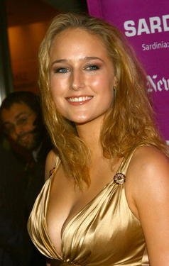 "Leelee Sobieski at the premiere of ""The Darjeeling Limited"" at the New York Film Festival."