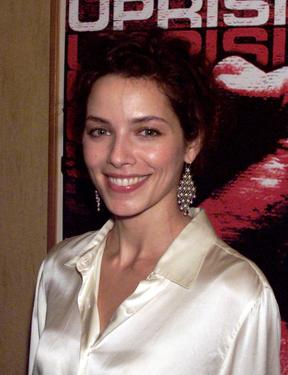 "Mili Avital at the cocktail reception preceding the New York premiere screening of ""Uprising."""