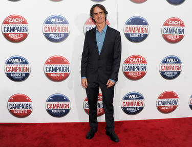 "Director Jay Roach at the California premiere of ""The Campaign."""