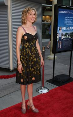 "Carrie Preston at the premiere of ""Towelhead."""