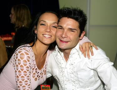 Corey Feldman and wife Susie Sprague at the VH1's Big In 2003 Awards.