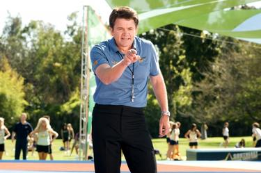 "John Michael Higgins in ""Fired Up."""