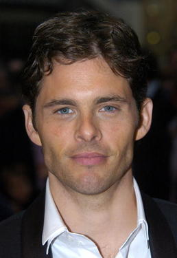 "Actor James Marsden at the premiere of ""Enchanted"" during the BFI 51st London Film Festival."