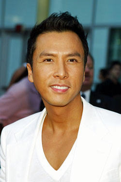 "Donnie Yen at the premiere of ""Hero."""