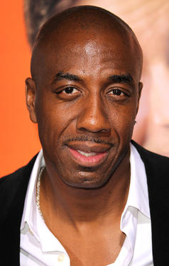 "J.B. Smoove at the California premiere of ""Hall Pass."""