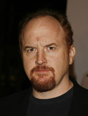 "Louis C.K. at the L.A. premiere of ""I Think I Love My Wife."""