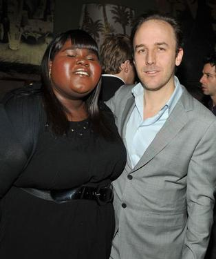"Gabourey Sidibe and Derek Cianfrance at the screening of ""Blue Valentine."""