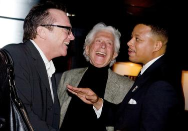 "Tom Arnold and Terrence Howard at the Special Screening Of ""Pride""."