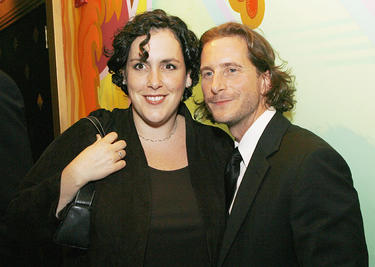 "Emma Thomas and Aaron Ryder at the after party of the premiere of ""The Prestige."""