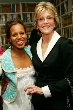 "Jane Fonda and Kerry Washington at the V-Day's festival ""UNTIL THE VIOLENCE STOPS: NYC""."
